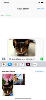 Apple iPhone XS Max - MMS - hoe te versturen - Stap 13