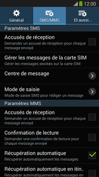 Samsung N9005 Galaxy Note III LTE - SMS - configuration manuelle - Étape 7