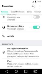 LG K4 2017 - Réseau - Utilisation à l