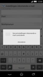 Sony Xperia Z2 4G (D6503) - E-mail - Handmatig instellen - Stap 12