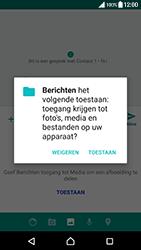 Sony Xperia XZ Premium - MMS - afbeeldingen verzenden - Stap 13