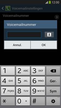 Samsung N9005 Galaxy Note III LTE - Voicemail - handmatig instellen - Stap 8