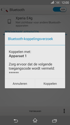 Sony E2003 Xperia E4G - Bluetooth - koppelen met ander apparaat - Stap 9