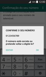Samsung Galaxy J1 - Aplicações - Como configurar o WhatsApp -  7