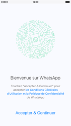 Apple iPhone 6 iOS 9 - WhatsApp - Activer WhatsApp - Étape 6