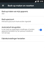 Nokia 8 (SingleSIM) (TA-1012) - Instellingen aanpassen - Fabrieksinstellingen terugzetten - Stap 5