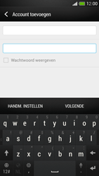 HTC One Mini - E-mail - Handmatig instellen - Stap 8