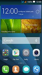 Huawei Y3 - Rede móvel - Como ativar e desativar uma rede de dados - Etapa 1