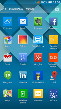 Alcatel Pop C9 - Bluetooth - Transferir archivos a través de Bluetooth - Paso 3