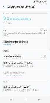 Samsung Galaxy S8 - Internet - Activer ou désactiver - Étape 7