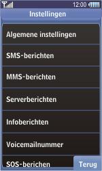 Samsung S8500 Wave - Voicemail - handmatig instellen - Stap 6