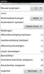 BlackBerry 9860 Torch - MMS - probleem met ontvangen - Stap 7