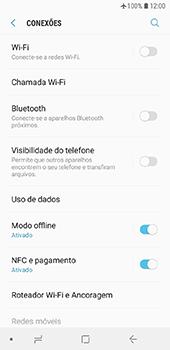 Samsung Galaxy J6 - Rede móvel - Como ativar e desativar o modo avião no seu aparelho - Etapa 6
