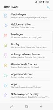 Samsung Galaxy S8 (G950) - Internet - Uitzetten - Stap 4