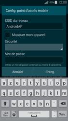 Samsung Galaxy Alpha - Internet et connexion - Partager votre connexion en Wi-Fi - Étape 9