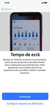 Apple iPhone XR - Primeiros passos - Como ligar o telemóvel pela primeira vez -  23