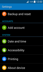 Samsung G357 Galaxy Ace 4 - Device - Reset to factory settings - Step 5