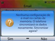 Huawei U6020 - Email - Como configurar seu celular para receber e enviar e-mails - Etapa 14
