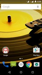 Motorola Moto E (2ª Geração) - Rede móvel - Como ativar e desativar uma rede de dados - Etapa 1