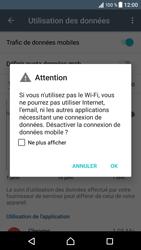 Sony Xperia XZ (F8331) - Internet et connexion - Désactiver la connexion Internet - Étape 6