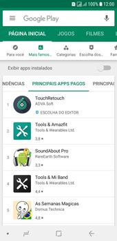 Samsung Galaxy J6 - Aplicativos - Como baixar aplicativos - Etapa 9