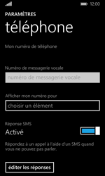 Microsoft Lumia 532 - Messagerie vocale - configuration manuelle - Étape 7