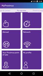 BlackBerry DTEK 50 - Applications - MyProximus - Step 18