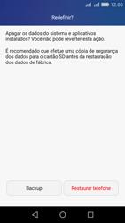 Huawei Y6 - Funções básicas - Como restaurar as configurações originais do seu aparelho - Etapa 6