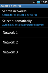 Samsung S5660 Galaxy Gio - Network - Usage across the border - Step 7
