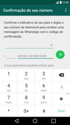 LG G5 - Aplicações - Como configurar o WhatsApp -  9