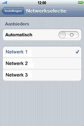 Apple iPhone 4 S - Netwerk - gebruik in het buitenland - Stap 8