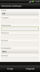 HTC Z520e One S - E-mail - Handmatig instellen - Stap 11