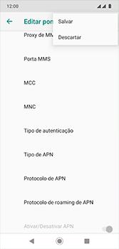 Motorola Moto G7 - Internet (APN) - Como configurar a internet do seu aparelho (APN Nextel) - Etapa 16