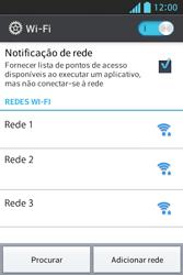 LG E612 Optimus L5 - Wi-Fi - Como configurar uma rede wi fi - Etapa 6