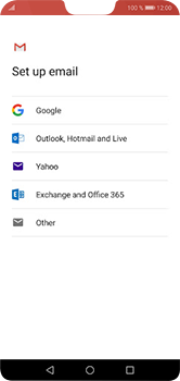 Huawei P20 Lite - E-mail - Manual configuration (gmail) - Step 7
