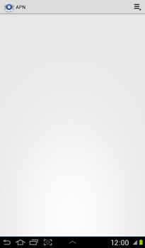 Samsung P3100 Galaxy Tab 2 7-0 - Internet - configuration manuelle - Étape 9