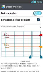 LG Optimus L5 II - Internet - Ver uso de datos - Paso 11