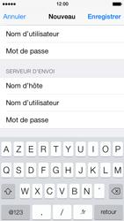 Apple iPhone 5 - E-mails - Ajouter ou modifier un compte e-mail - Étape 14