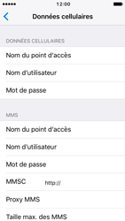 Apple iPhone SE - iOS 10 - Internet - Configuration manuelle - Étape 7