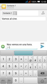 Alcatel Pop C9 - Mensajería - Escribir y enviar un mensaje multimedia - Paso 13