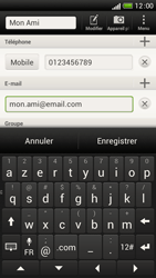 HTC One S - Contact, Appels, SMS/MMS - Ajouter un contact - Étape 12