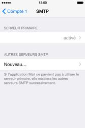 Apple iPhone 4S (iOS 8) - E-mails - Ajouter ou modifier un compte e-mail - Étape 21