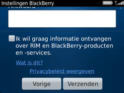 BlackBerry 9720 Bold - BlackBerry activeren - BlackBerry ID activeren - Stap 12