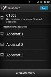 Sony C1505 Xperia E - WiFi en Bluetooth - Bluetooth koppelen - Stap 6