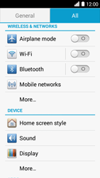 Huawei Ascend Y530 - WiFi and Bluetooth - Manual configuration - Step 3