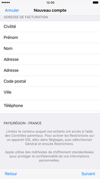 Apple Apple iPhone 6 Plus iOS 10 - Applications - Créer un compte - Étape 23