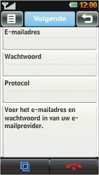 LG GD880 Mini - E-mail - Handmatig instellen - Stap 6