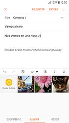 Samsung Galaxy J5 (2017) - E-mail - Escribir y enviar un correo electrónico - Paso 12