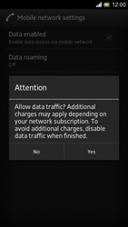 Sony LT28h Xperia ion - Internet - Manual configuration - Step 7
