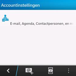BlackBerry Q10 - E-mail - Handmatig instellen - Stap 5